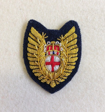 HANDMADE EMBROIDERED BLAZER BADGES RAF MEDICAL FLIGHT NURSE MESS DRESS BADGE, ROYAL AIR FORCE, OFFICERS, FN, FNO