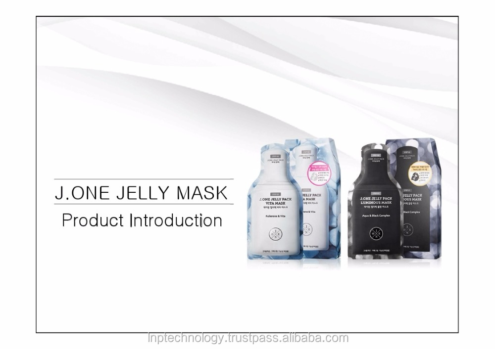 J.ONE JELLY PACK MASK_anti-wrinkle, brightning all in one