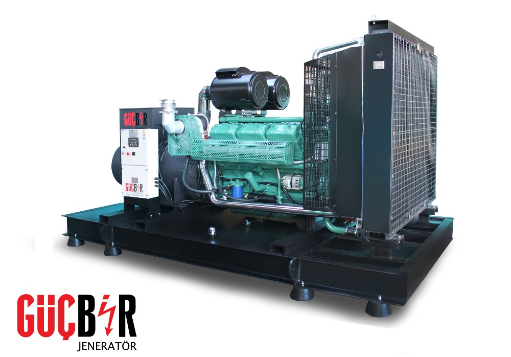 660kVA diesel generator powered by WUXI