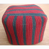 special design home good hand knitted pouf, indian knitted pouf