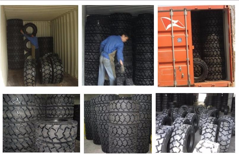 Self-cleaning tread design 10-16.5 skidsteer tire