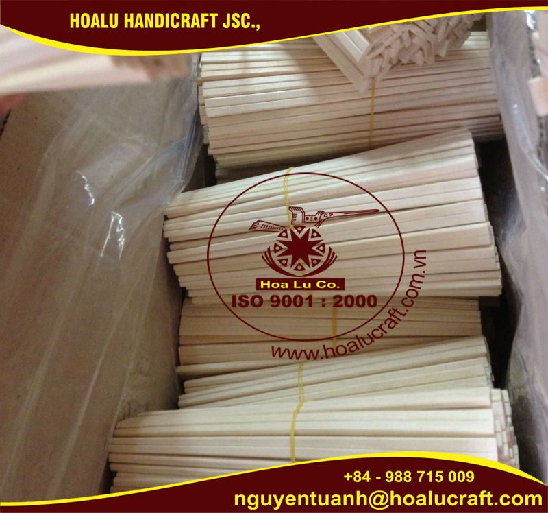 Disposable eco-friendly wooden chopsticks with high quality