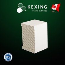 Honeycomb ceramic Monolith heat sink media for RTO RCO