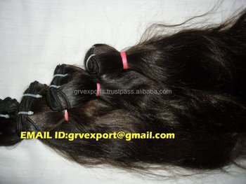 remy human hair from indian manufatures