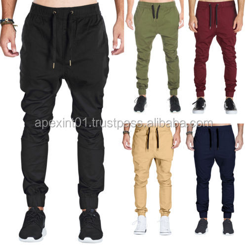 2015 fashion casual sweatpants sportwear trousers mens baggy pants wholesale blank jogger pants