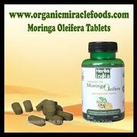 Organic Certifed Moringa Oleifera Tablets for export