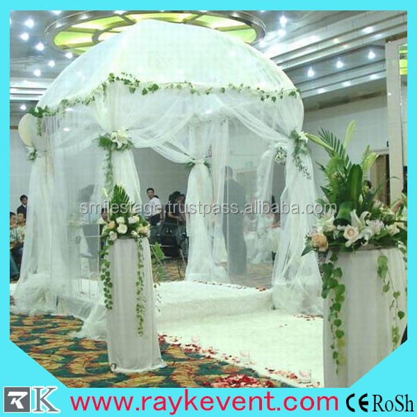 high quality circle party pipe and drape wedding backdrop