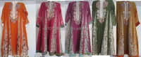 PAKISTANI DESIGNER-VEMB-MEHENDI DANCE PARTY 5 FROCKS PACK- SAME THEME FOR GROUP