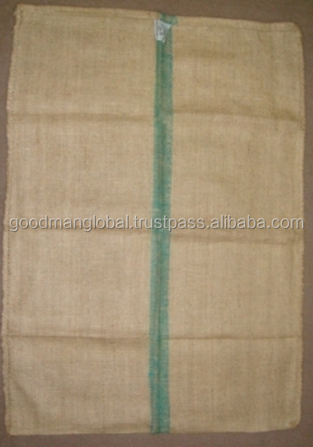 Double Warp (DW) 50 - 60 kg Jute Sacking gunny Bags - for coffee bean packing