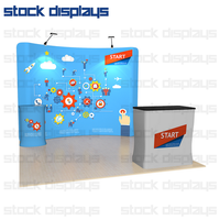 trade show displays,tension fabric displays,tensile roof