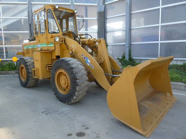 < SOLD OUT > USED KAWASAKI KLD65Z WHEEL LOADER FOR SALE FROM JAPAN!!
