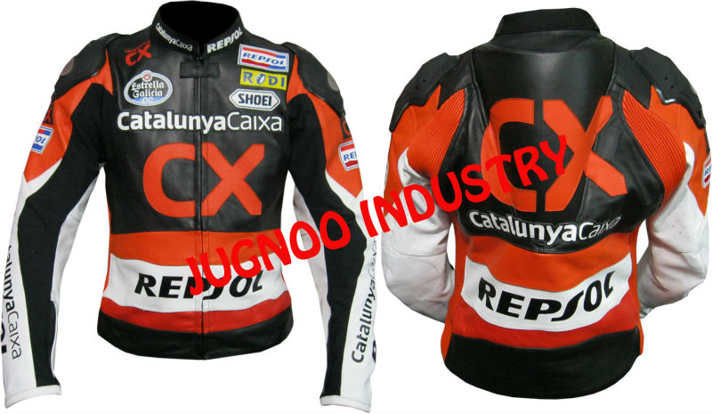 Honda repsol jacket leather