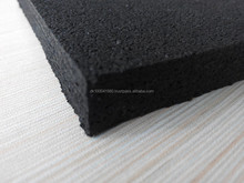 Comprehensive train rubber flooring/good elasticity rubber tile/long time use gym rubber floorings