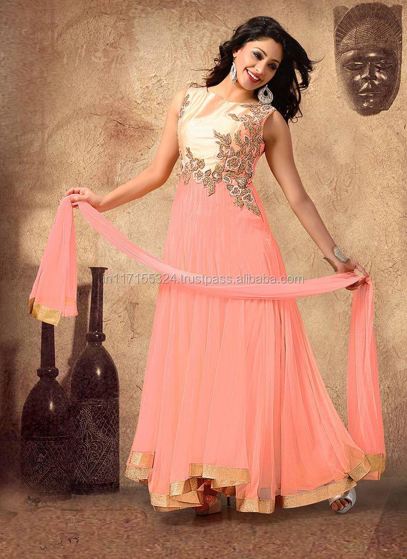 Fancy Gorgeous Anarkali Dress Indian Pakistani Designer