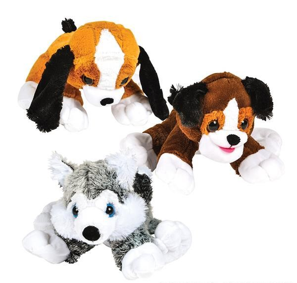 "15.5 "" DAWGIE DOG MIX en peluche"