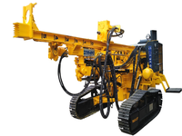 New hydraulic Lightweight Mini portable crawler Rotary drilling rig depth 30M truck mounted water well drilling rig