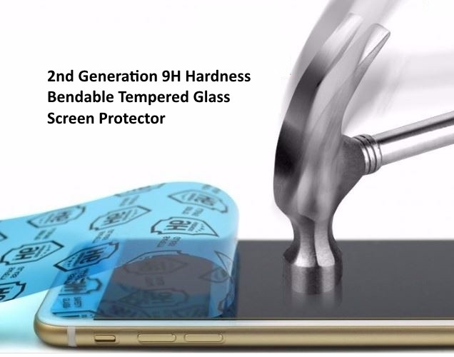 2nd Generation 9H Bendable Nano Tempered Glass Screen Protector for Vivo X5 / X5L