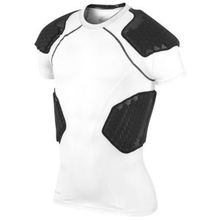 Custom Half Sleeve American Football Safety Padding Shirt/Compression Padding shirt
