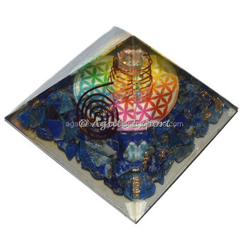 Lapis Lazuli with Flower of life Orgone Pyramids: Alibaba Top Online Seller of Orogne pyramids