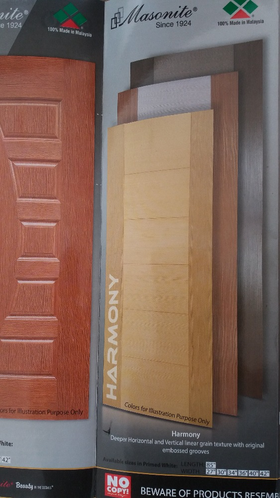 Hot Pressed Doors (Malaysian And Local)+(MDF and HDF)