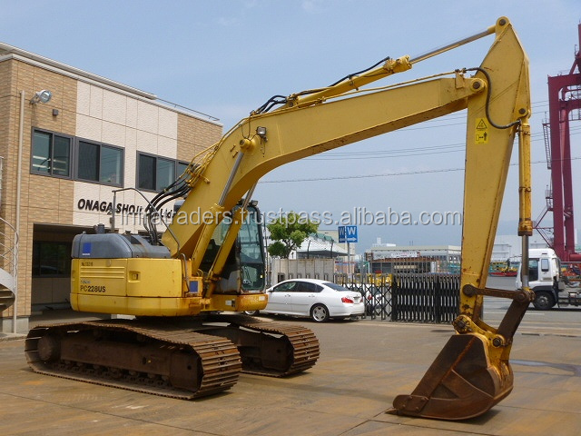Supply cheap price Komatsu Hitachi Doosan Used Excavator,used Komatsu excavator pc228US-3 pc200-8,hot sale now!!!good quality