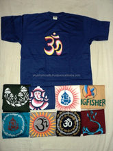 hand painted hindu gods designs t-shirts