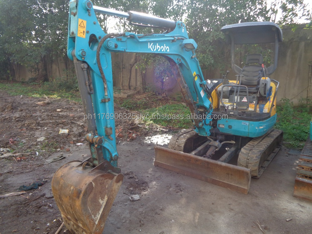 Original from Japan Good Condition 3 Ton Kubota Used Excavator High Quality Wholesale Price