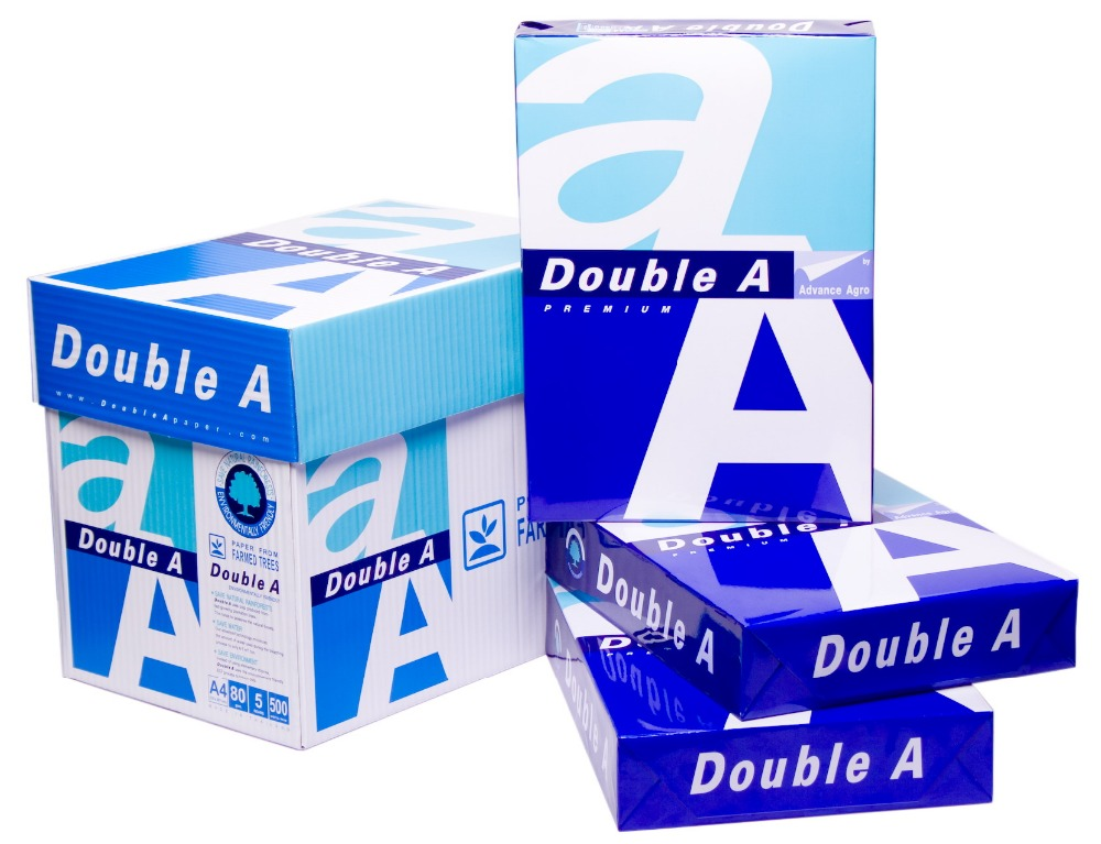 competitive price a4 copy paper 70gsm Double A a4 paper Thailand