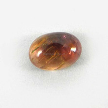 Semi Precious Natural Multi Color Tourmaline Gemstone 5x7mm Oval Cabochon 1.3 Cts Loose Gemstone IG4266