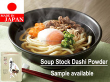 Delicious Japanese instant noodles seasoning , soup stock dashi used in many dishes