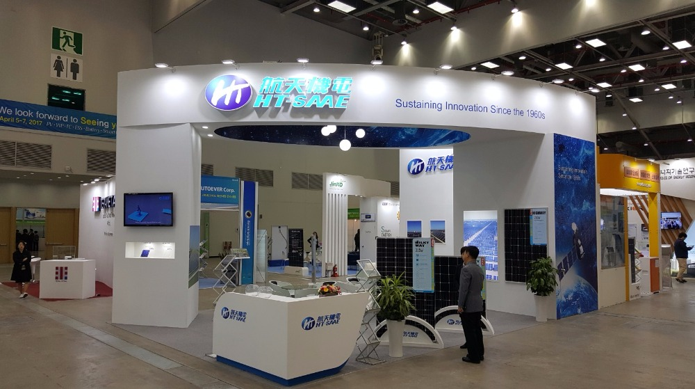 Exhibition Booth Stand in Daegu, South Korea