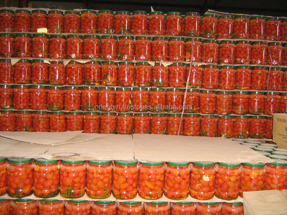 Canned Pickled Tomatoes - production 2016
