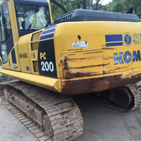 New Arrival Japan Komatsu PC200 Used