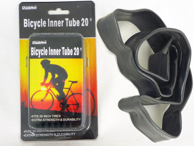 "BICYCLE INNER TUBE 20"", #32018"