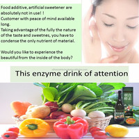 This enzymes drink inner care drink was aged more than 1000 days