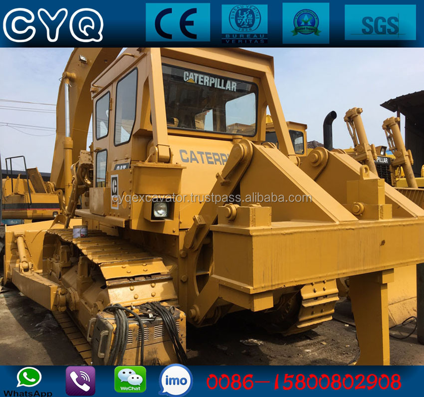 Used/Second hand tracked dozer CAT D7G bulldozer, D6,D8 dozer for sale (whatsapp: 0086-15800802908)