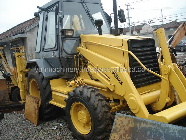 Low price Used backhoe loader JCB 3CX, used jcb 3cx backhoe loader
