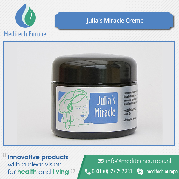 Restorative, Nutritious and Softening Julia's Miracle Skin Cream