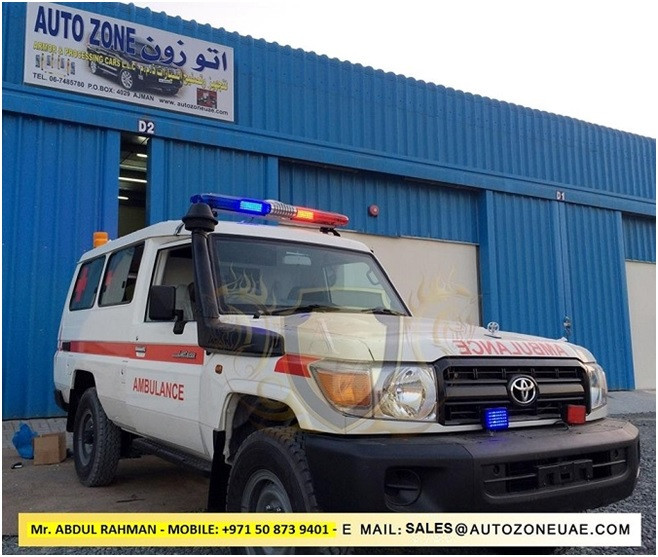 Ambulances at Special Prices