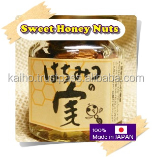 Honey and nuts premium Japanese jam sauce high quality high grade vietnam honey fine