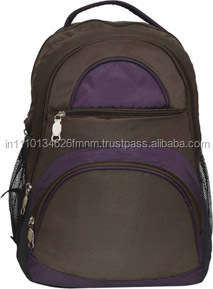 indian supplier OEM waterproof canvas laptop bag backpack