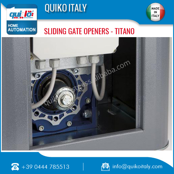 Electric Sliding Gate Opener from Reputed Italian Manufacturer