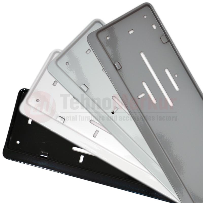 Modern Euro License Plate Frame Illustration - Framed Art Ideas ...