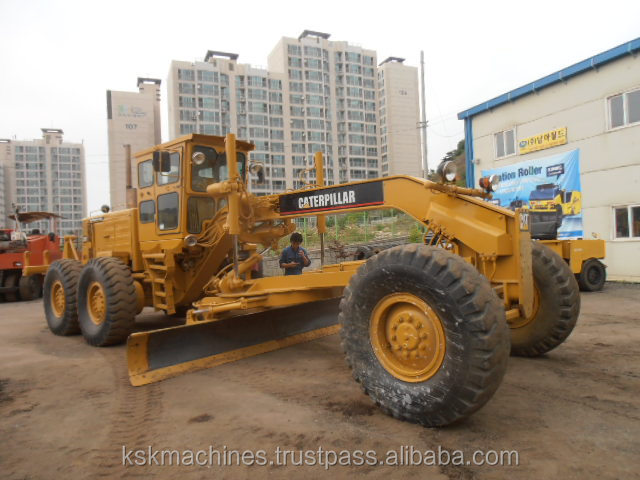 Famous brand 140g motor grader used grader for sale