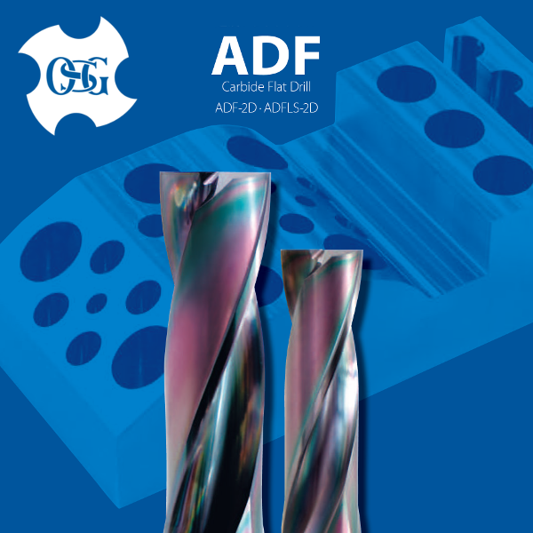 High quality square hole drill bit, OSG Carbide Flat Drill ADF series at reasonable prices , small lot order available