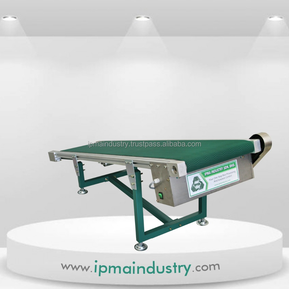 Inclined Discharge Belt Conveyor