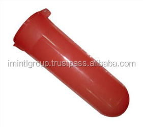 Red color 100 Rounds paintball pod, direct factory maker paintball pod in high quality