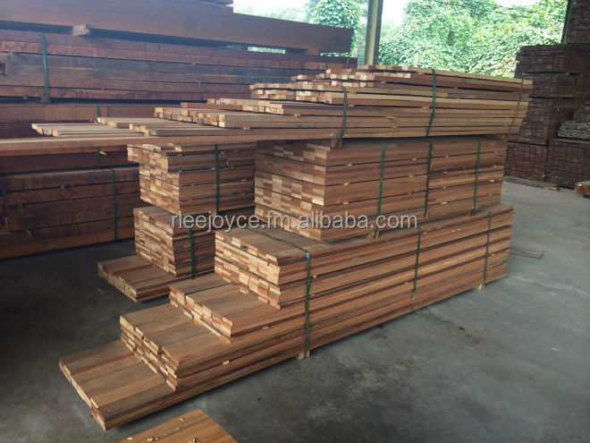 Sawn Timber Tropical Hardwood Merbau, Meranti, Kapur, Balau, Kempas