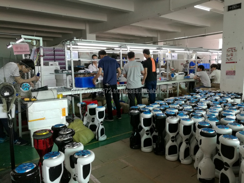During Production Inspection for Hoverboard in China