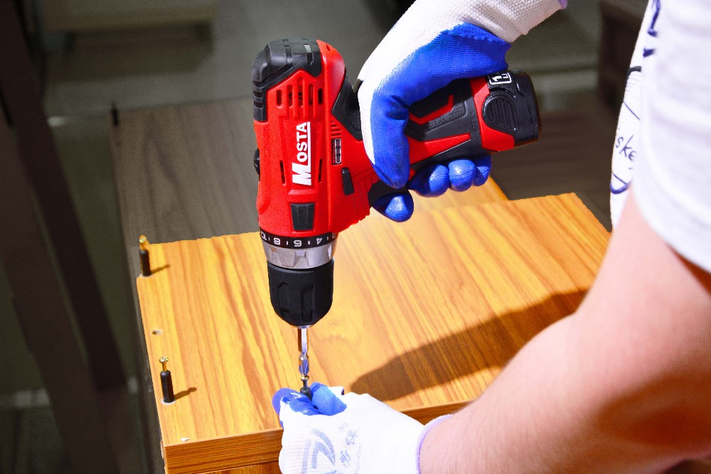 Mosta 12V Cordless Rechargeable Handheld Compact Drill Electric Power Tool